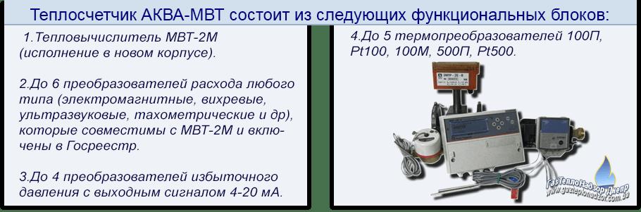 Теплосчетчик АКВА-МВТ
