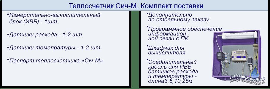 Теплосчетчик Сич-М