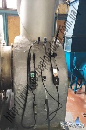 Режимная наладка водогрейного котла ТВГ-8М