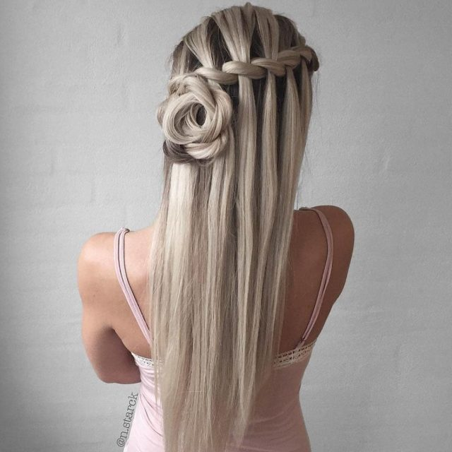 wedding hairstyles half up half down for short and long hair