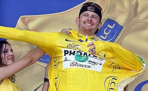 Il Tour de France è suo. Afp