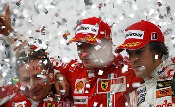 Tanti complimenti alla Ferrari