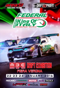 King of Italy Drift Exhibition