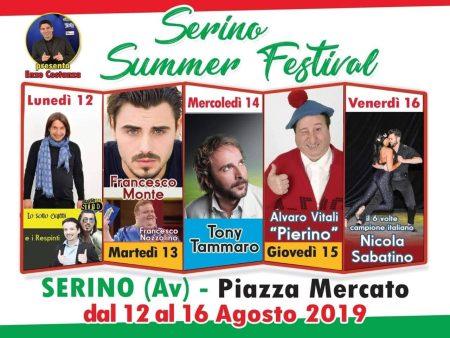 Immagine copertina Serino Summer Festival 2019