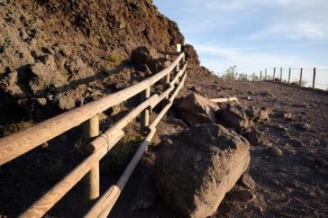 Trekking percorso Vesuvio