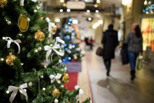 albero di Natale centro commerciale