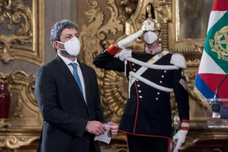 Presidential consultations, meeting Mattarella-Fico