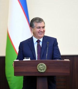 foto x Gazzetta Presidente Uzbekistan Mirziyoyev