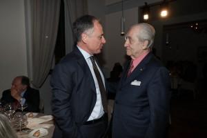 Andrea Cecchi con Gualtiero Marchesi