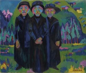 E.L.Kirchner_Le tre vecchie signore