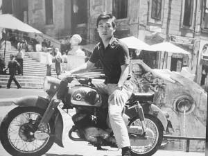 Hideyiuki Miyakawa a Rome nel 1960