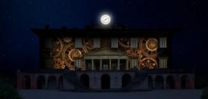 Videomapping sulla facciata della Villa Medicea