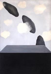 Marina Abramović Black Clouds Coming 1970