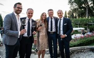 Federico Trost, Andrea Cecchi, Ines Giovanett, Olivier Collard e Luca Stortolani