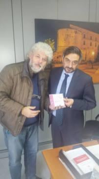 Con l'Assessore Regionale Corrado MATERA 9 Novembre 2017