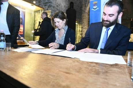 Firma convenzione bypass Amalfi 2