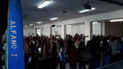 accoglienza al liceo ALFANO I
