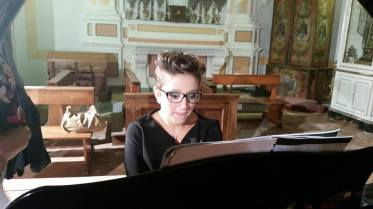 La pianista Elvira Borriello