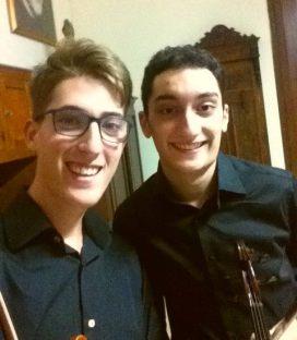 Mauro Tampburo e Antonio Nobile