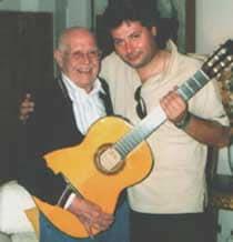 Con Roberto Murolo e la Chitarra