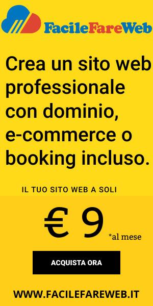 Realizza il tuo sito web di commercio elettronico gratis