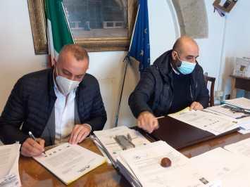 Firma accordo Parco Cilab