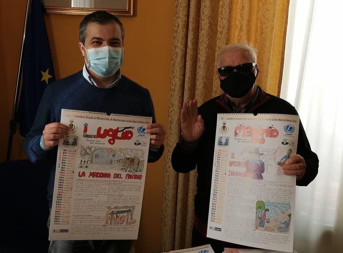 """I """"cundy"""" dei nonni nel calendario di Montesano sulla Marcellana. —  Gazzetta di Salerno"""