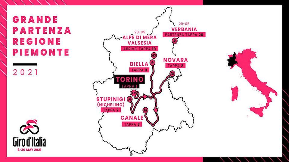 Novara dà il benvenuto al Giro d'Italia: l'elenco delle iniziative