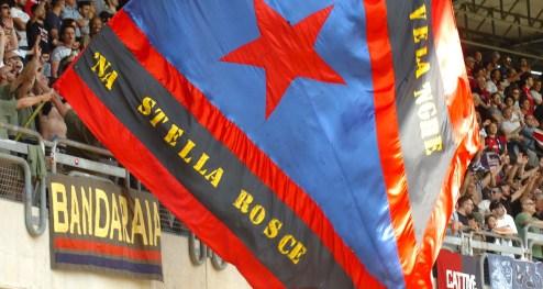 1718 samb albinoleffe tifosi 5 bandiera na stella rosce stella rossa