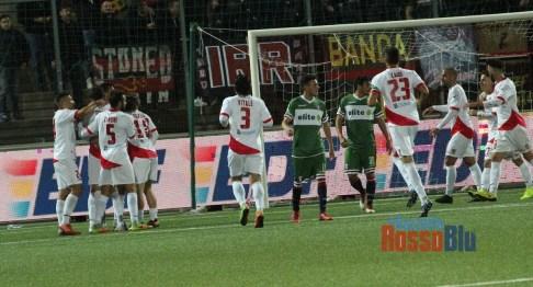 1819 coppa italia serie c teramo samb primo gol teramo