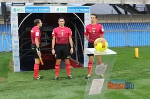 2021 samb legnago arbitro ingresso in campo