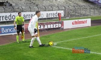 2021 arezzo samb botta 2 calcio d'angolo
