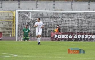2021 arezzo samb primo gol arezzo 2 nobile a terra