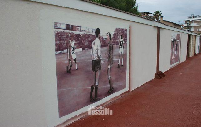 20210607 stadio ballarin cerimonia riapertura murales chimenti zoff