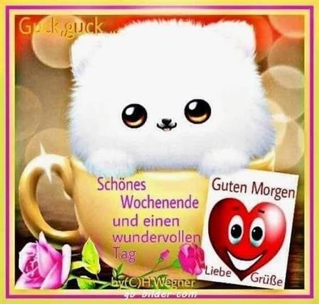 Guten Morgen Bilder Und Schones Wochenende Gb Bilder Gb Pics