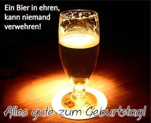 Bier Glas Alles Gute Zum Geburtstag Karte Zazzle De