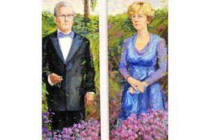 Portretten van Fleur Groenendijk en Margreet Leenders door Mila Jeleznikova