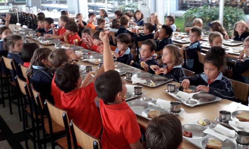 Desayunos saludables en varios centros escolares