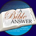 A Bible Answer