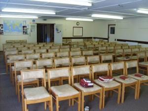 Empty Church Hall