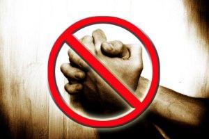 Stop open prayer meetings?