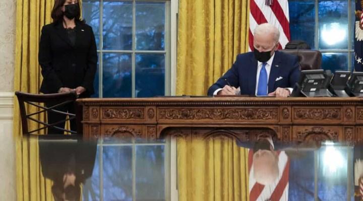 Presient Biden signs immigration law and reunites families