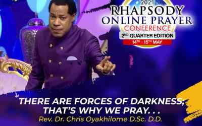 Rhapsody Online Prayer Conference – 2nd Quarter Edition 14th – 15th May 2021