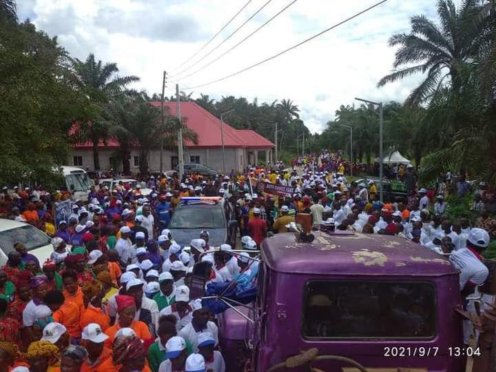 Continuous Voters Registration: Dr. Ifeanyi Chukwuma Odii holds rally