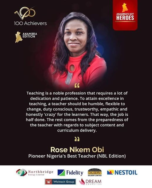 Every Teacher Is An Achiever - 100 Achievers