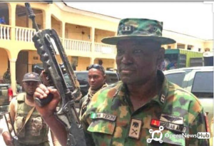 Meet the Army General behind killing of Gana