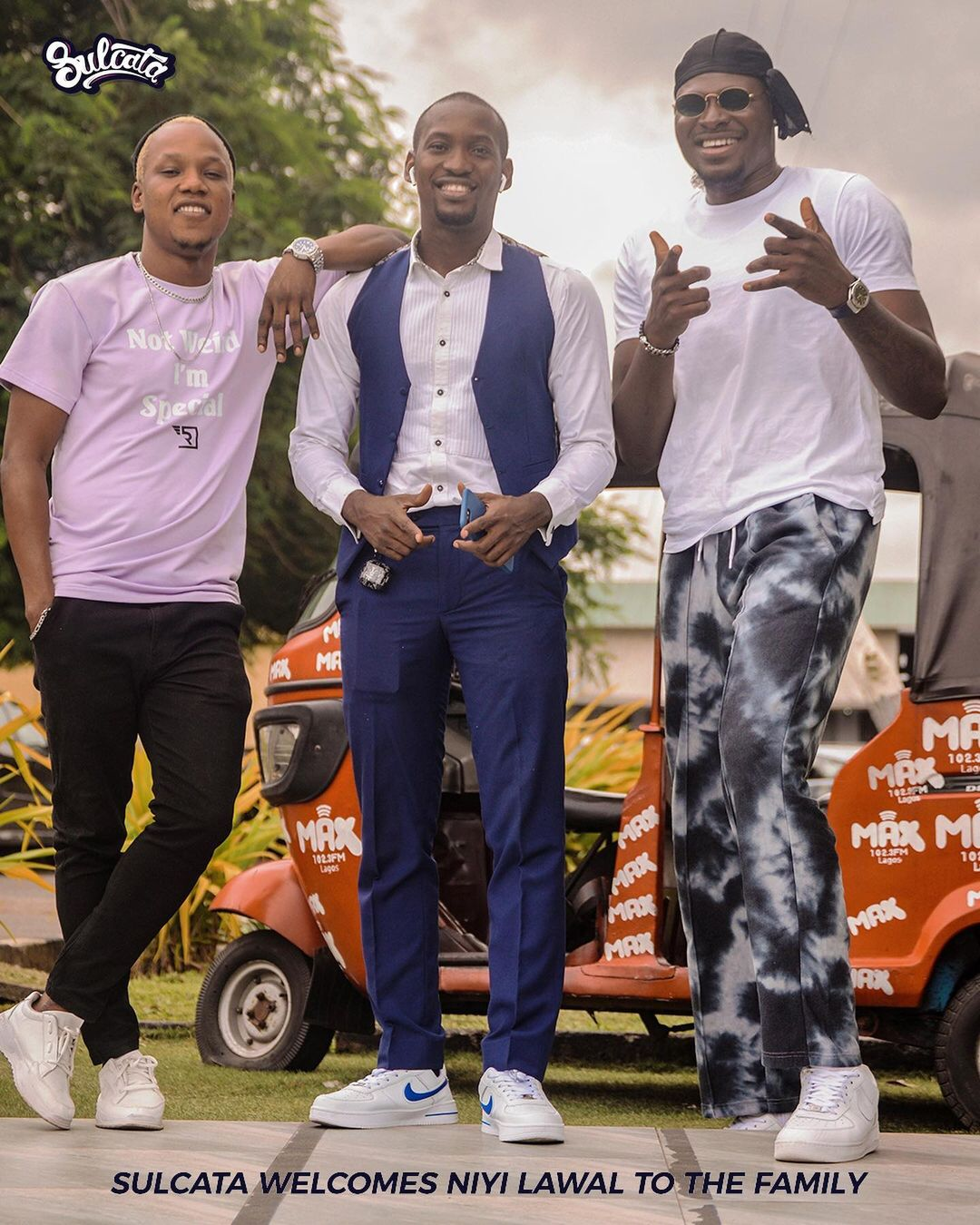 NIYI LAWAL Signs Management Deal with SULCATA Entertainment