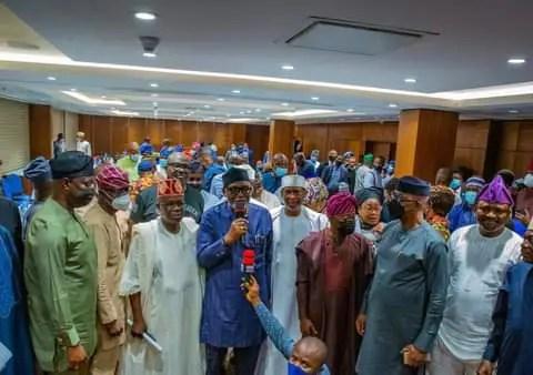 Constitution Review: Southwest Govs., Senators, Reps meet in Abuja