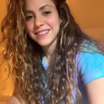 Shakira stuns fans with Toned Butt and Abs on suit she designed