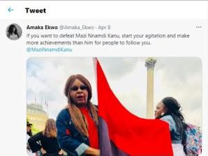 How to Defeat Mazi Nnamdi Kanu - Amaka Ekwo